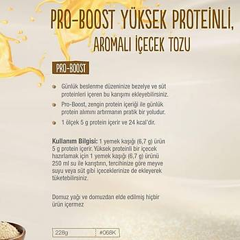 Herbalife Pro-Boost Yüksek Proteinli Ýçecek Tozu