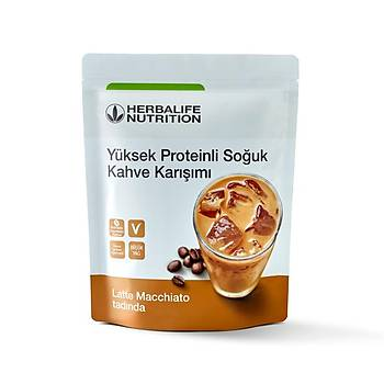 Yüksek Proteinli Soðuk Kahve Karýþýmý Latte Macchiato 308 gr