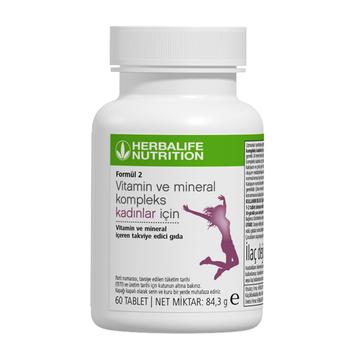 Herbalife Formül 2 Vitamin & Mineral Kadýnlar Ýçin