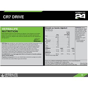 Herbalife CR7 Drive Spor Ýçeceði Tozu