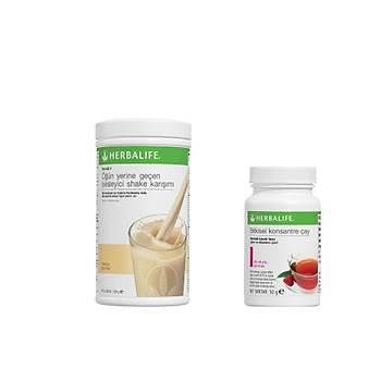 Herbalife Formül 1 Shake ve Bitkisel Konsantre Çay 50gr