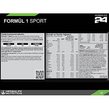 Herbalife H24 Sporcu Seti - Formül 1 Sport - CR7 Drive - RB Promax