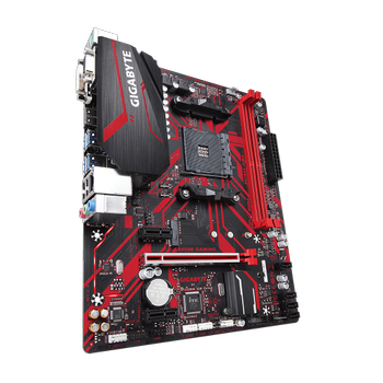 GIGABYTE B450M GAMING DDR4 RGB M.2 ATX AM4