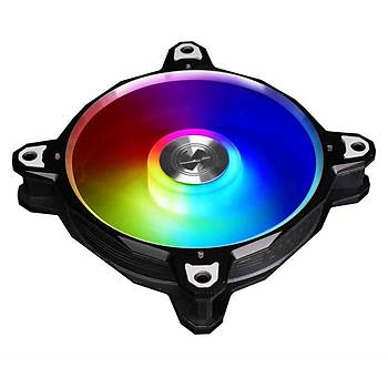 LIAN LI BORA DIGITAL BLACK 3X120 MM RGB KASA FANI