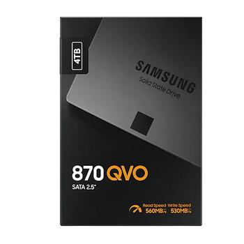 4TB SAMSUNG 870 560/530MB/s QVO MZ-77Q4T0BW SSD