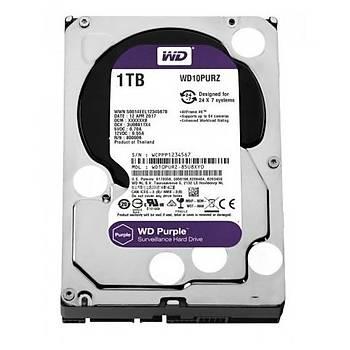 1TB WD Purple SATA 6Gb/s 64MB DV 7x24 WD10PURZ
