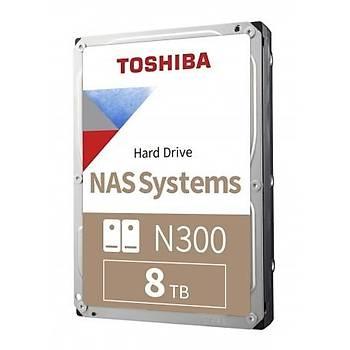 8TB TOSHIBA N300 7200RPM SATA3 128MB HDWG180UZSVA