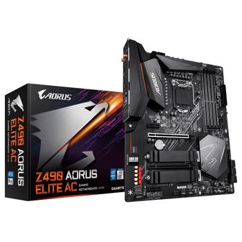 GIGABYTE Z490 AORUS ELITE AC DDR4 5000OC ATX 1200p