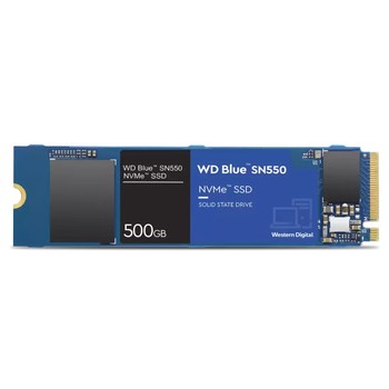 500GB WD BLUE SN550 M.2 NVMe WDS500G2B0C 2400/1750 SSD