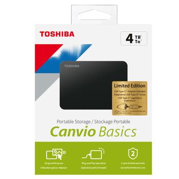 4TB Canvio Basics 2.5
