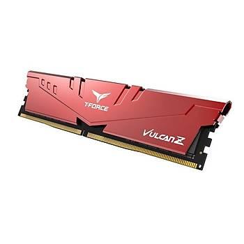 8 GB DDR4 3200 Mhz T-FORCE VULCAN Z RED 8GBx1 TEAM TLZRD48G3200HC16C01