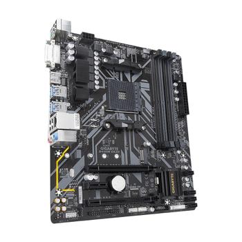GIGABYTE B450M-DS3H V2 DDR4 3600(O.C.) / 2133 MHz HDMI DVI AM4