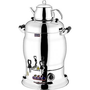 Remta Maksi Çift Demlikli Çay Makinesi 16 Litre