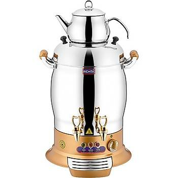Remta Gold Magnum Çift Demlikli Çay Makinesi 23 Litre