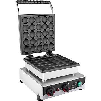 Remta Kapaklý Yuvarlak Bubble Waffle Makinesi Elektrikli