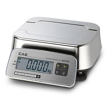 Cas FW500 30Kg. 5Gr. Paslanmaz IP69 Elektronik Hassas Tartým Terazisi