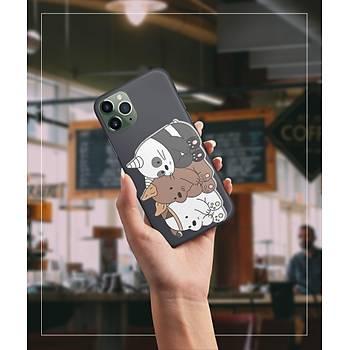 Bare Bears Telefon Kýlýfý Iphone 8