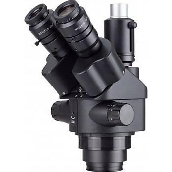 AmScope SM745NTP 7x-45x Simul-Focal Trinocular Zoom Stereo Mikroskop Kafa