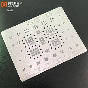Amaoe SAM 9 / Exynos 7570 / 3475 / SC9830A / 7730S CPU / J1 / J2 / J3 / J4 / J100H / J320F / G570M