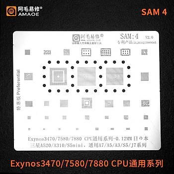 Amaoe SAM 4 / Exynos3470 / 7580 / 7880 CPU / A520 / A310 / S5mini / A7 / A5 / A3 / S5 / J7