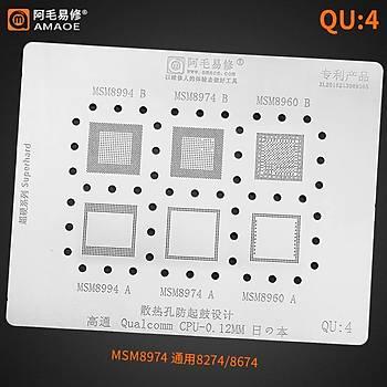Amaoe Qualcomm QU 4 / MSM8994 B / MSM8974 B / MSM8960 B / MSM8994 A / MSM8974 A / MSM8960 A