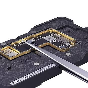 Qianli 10in1 iPhone X/XS/XSMAX/11/11PRO/11PROMAX/12/12Pro/12Pro Max/12 Mini Birleþtirme Kalýbý