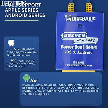 Mechanic iBoot FCP Power Kablo (iPhone ve Android)