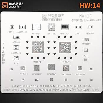 Amaoe HW 14 / 720-MT6853V / 800-MT6873V CPU / 20 / 20Plus / 20Pro / Nova8se / 9 / X10Max / Play4