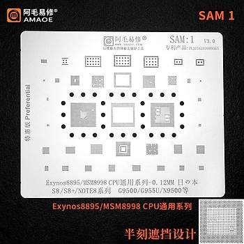 Amaoe SAM 1 Exynos8895 / MSM8998 CPU / S8 / S8+ / NOTE8 / G9500 / G955U / N9500
