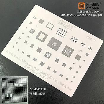 Amaoe SAM 7 / 845 / Exynos9810 CPU / S9 / S9+