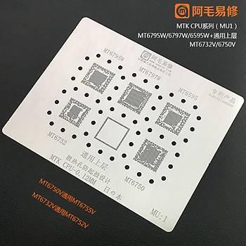 MU 1 / MTK CPU / MT6795W / MT6797W / MT6595 / MT6732 / MT6750