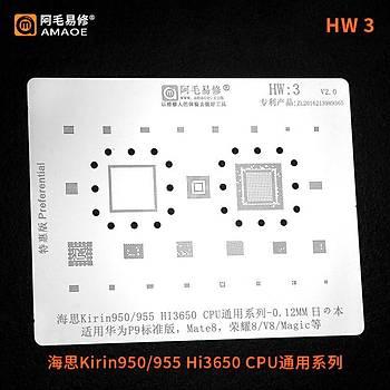Amaoe HW 3 / KÝRÝN950 / 955 / HI3650 CPU / P9 / MATE8 / 8 / V8 / MAGÝC