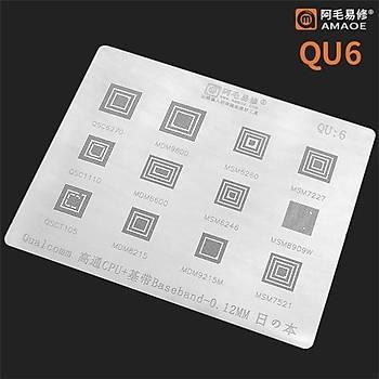 Amaoe Qualcomm QU 6 / QSC6270 / MDM9600 / MSM6250 / MSM7227 / QSC1110 / MDM6600 / MSM6246 / MSM8909W / QSC1105 / MDM8215 / MDM9215M / MSM7521