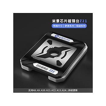 Mijing Z21 iPhone Ýþlemci Kalýbý (A8/A9/A10/A11/A12/A13/A14/A14S)