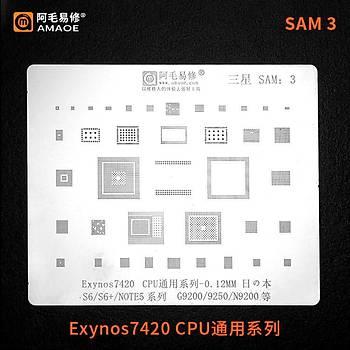 Amaoe SAM 3 / Exynos7420 CPU / S6 / S6+ / NOTE5 / G9200 / 9250 / N9200