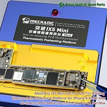Mechanic ix5 Mini 10in1 Bord Isýtýcý (X/XS/XSMAX/11/11PRO/11PROMAX/12/12PRO/12PROMAX)