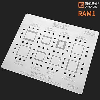 RAM 1 / BGA366 / MSM8995 RAM / MSM8998 RAM / BGA556 / SDM845 RAM / BGA256 / MSM8956 RAM / BGA272 / H�50 RAM / BGA320 / H�60 RAM / BGA196 / 7885 RAM / BGA 376 / H�70 / H�80 /