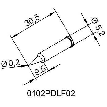 ERSA 0.2mm Havya Ucu (0102PDLF02/10)