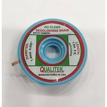 Qualitek Lehim Çekme Teli (1.5m / 1.4mm)