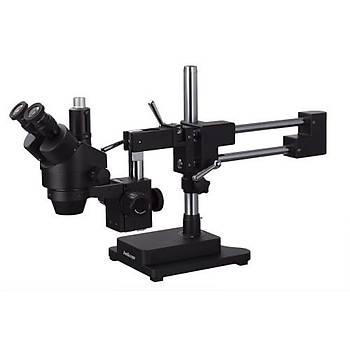 AmScope SM-4NTP Siyah Full Mikroskop