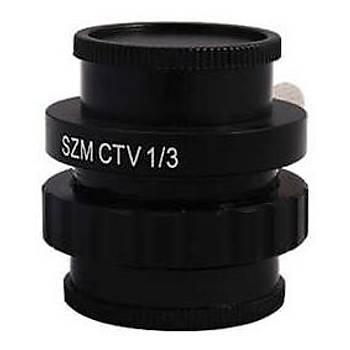 1/3 C-Neck (Mikroskoplar için kamera takma aparatý)