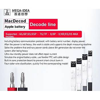 Mega-idea MacDecod iPhone Power Kablo