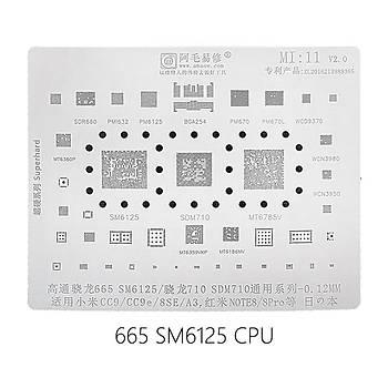 Amaoe Mi 11 Kalýp (665/SM6125/710/SDM710 CC9/CC9e/8SE/A3/NOTE8/8Pro)