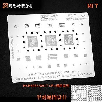 Amaoe Mi 7 / MSM8953 / 8917 CPU / NOTE4X / 4 / 4A / 5A / 5Plus / S2 / Pro / 5x / Max2