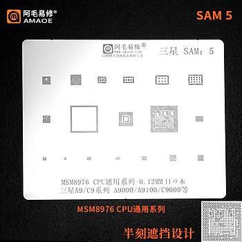 Amaoe SAM 5 / MSM8976 CPU / A9 / C9 / A9000 / A9100 / C9000