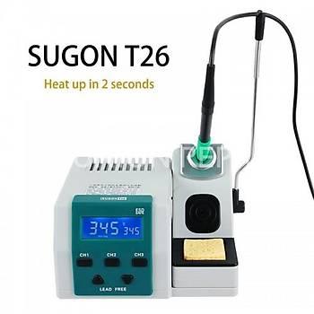 SUGON T26 Ýstasyonlu Havya (3 Adet Yan Sanayi Uç)