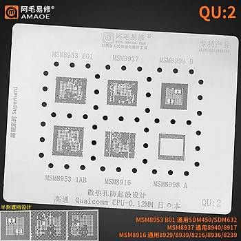 Amaoe Qualcomm QU 2 / MSM8953 B01 / MSM8937 / MSM8998 B / MSM8953 1AB / MSM8916 / MSM8998 A