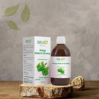 Dr.Bio Ginkgo Biloba & Ginseng Ekstrakt 250 ml