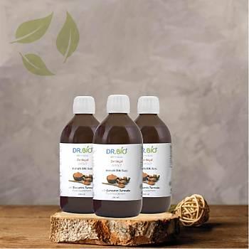 Zerdeçal (Curcumin) Sývý Extract 250 ml (3'lü Paket)