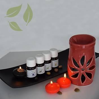 Aromaterapi Buhurdanlýk Set 2